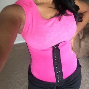 Women's Pink Waist Trainer